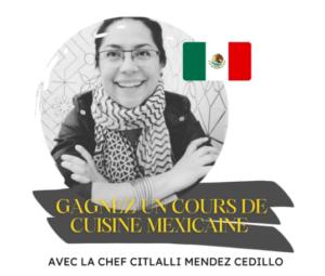 Concours de cuisine mexicaine
