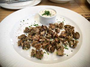 Escargots-Liban- sauce tarator