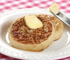 Crumpets, Angleterre