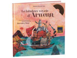 livre le fabuleux voyage d'arwenn