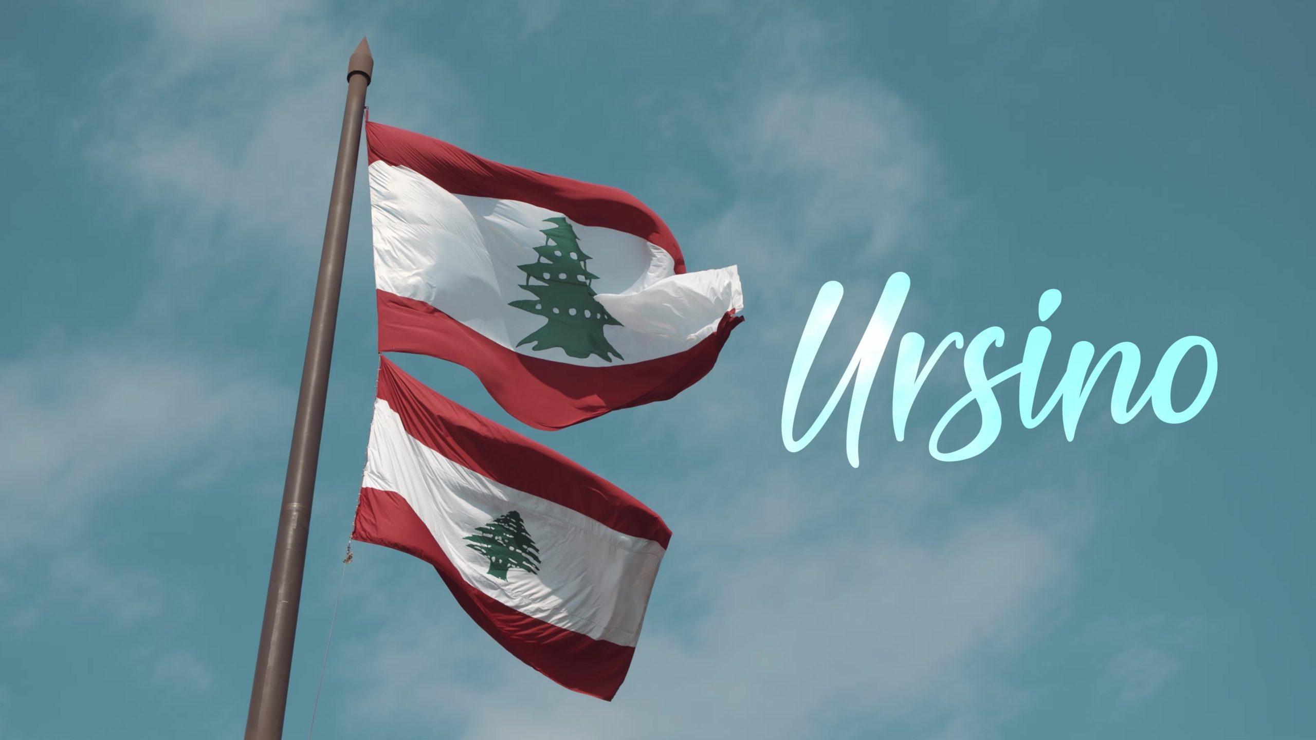 Ursino au Liban