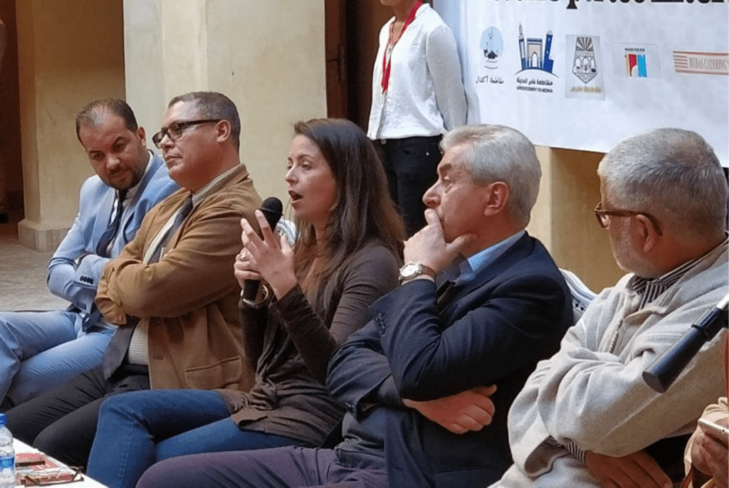 Table-ronde Festival du patrimoine culturel de Fès