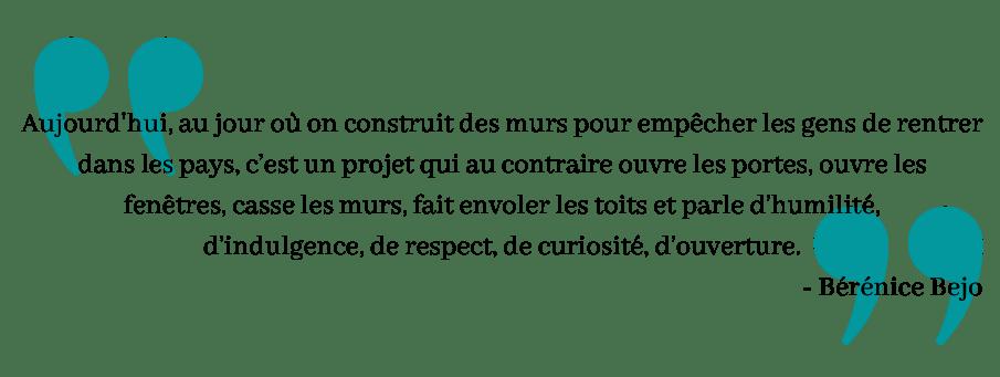 Citation de Bérénice Bejo