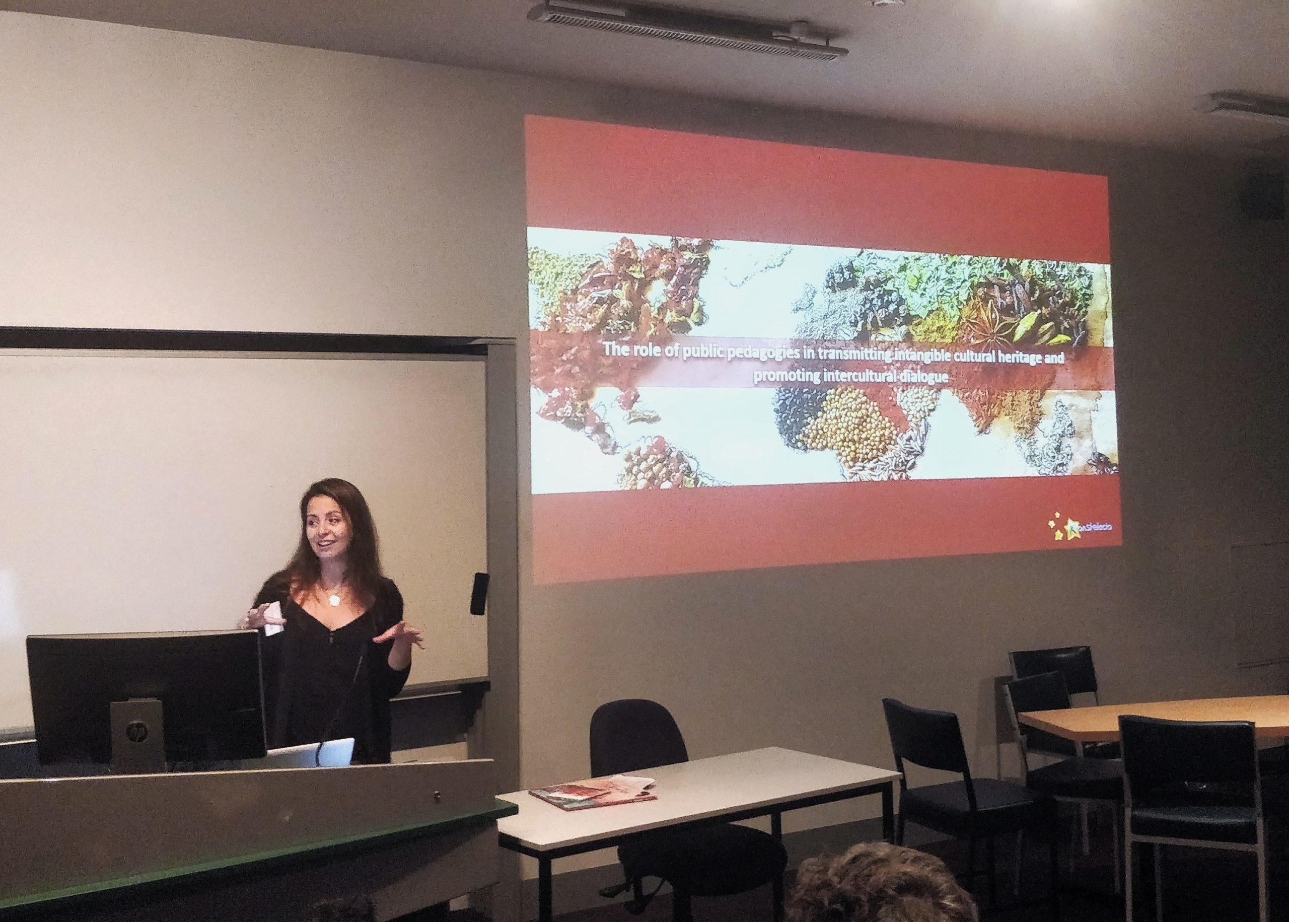 Conférence de Charlotte Courtois à la Victoria University de Melbourne