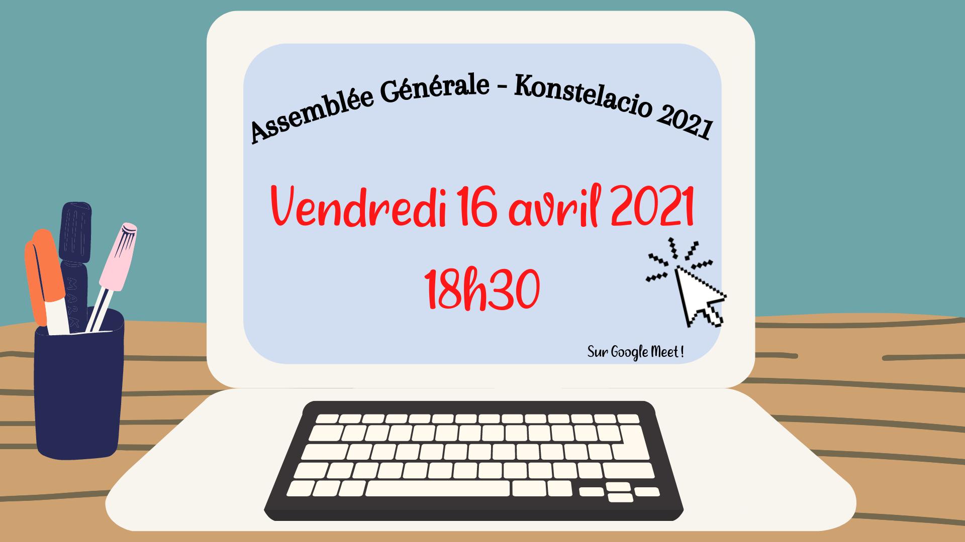 Assemblée Générale de Konstelacio 2021